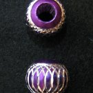 Shiny bead (04) (Purple) (2pcs)
