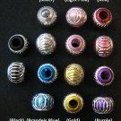 Shiny bead (04) (Assorted color) (20pcs)