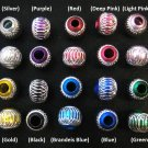 Shiny bead (05) (Assorted color) (20pcs)