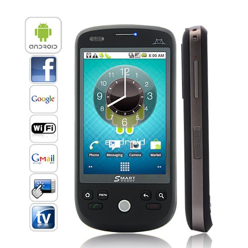 3.2 Inch Android 2.2 Smartphone with Capacitive Touchscreen + Dual SIM