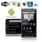 Android 2.2 Dual SIM 3.6 Inch Touch Screen Smart Phone with WIFI + TV + GPS