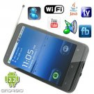 Android 2.2 OS 4.3 Inch Capacitive Touchscreen Smart Phone with GPS Navigation