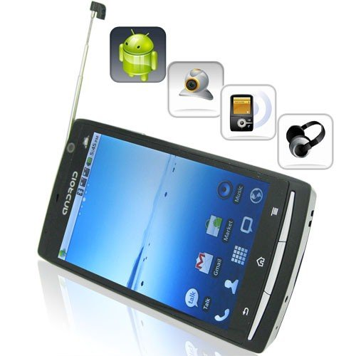 Android 2.2 OS 4.0 Inch Touchscreen TV Smartphone with Dual Camera + AGPS