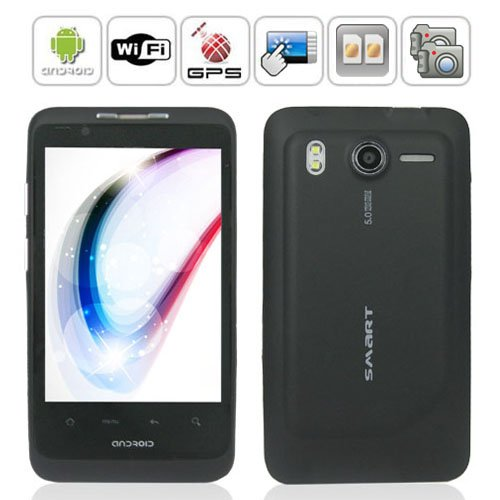 Android 2.2 OS 4.0 '' HD Capacitive Muilt-touch Screen GPS Smart Phone