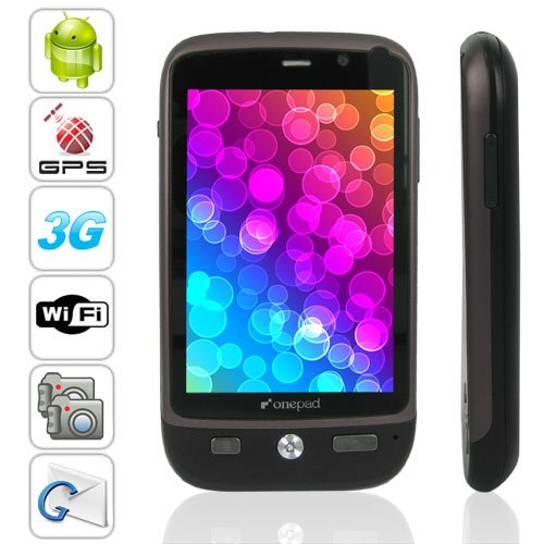 3G Android 2.2 OS 3.5 Inch Capacitive Muilt-touch Screen GPS Smartphone