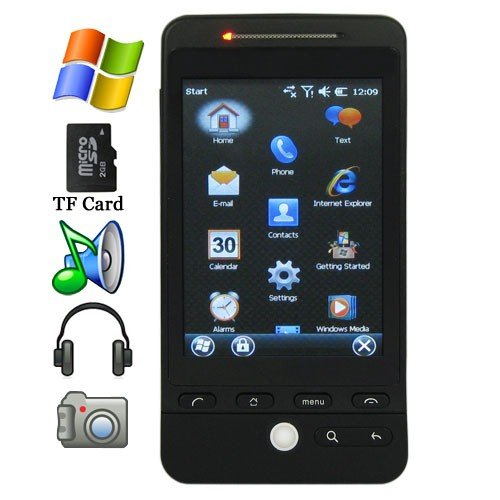 3.2 Inch Screen Windows Mobile OS Cellphone with GPS and Dual Camera