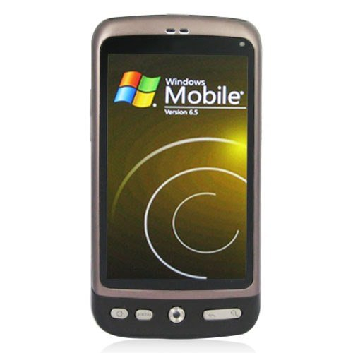 Windows 6.5 Smart Mobile Phone with GPS and 3.8 Inch LCD Touch-sensitive Screen