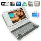 3.2 Inch Touch screen WiFi TV Cellphone + External Qwerty Keyboard + G-sensor