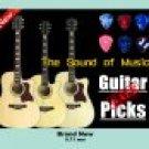 50 pcs New medium 0.71 mm guitar picks Celluloid
