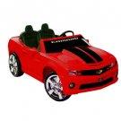 NPL Chevrolet Racing Camaro 12v Car WOW! - Red - NPL0821