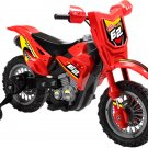 Mini Motos Dirt Bike 6v Red - Battery Powered - MM-3999B