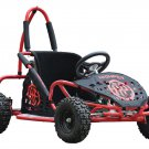 MotoTec Off Road Go Kart 79cc Red 2.5 HP - Gas - MT-GK-05