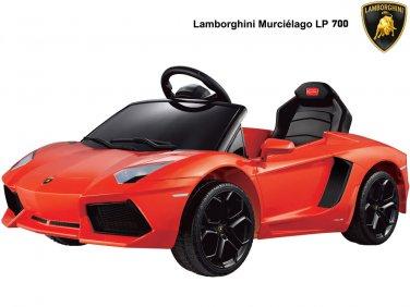 Rastar Lamborghini Aventador LP700-4 6v (Remote Controlled) - Orange - RA-81700 - Ride On