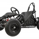 MotoTec 48v 1000w Off Road Go Kart - MT-GK-01 - Black