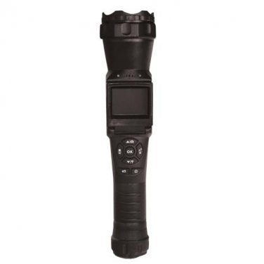 """Flashlight Surveillance Camcorder Camera with IR Night Vision and 2"""" LCD Screen - Rechargeable"""