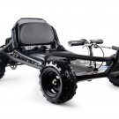 MotoTec SandMan Go Kart 49cc - Black - Gas - MT-GK-10