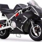 MotoTec Cali 36v Electric Pocket Bike - White - Battery Powered - MT-EP-Cali_White