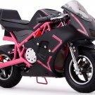 MotoTec Cali 36v Electric Pocket Bike - Pink - Battery Powered - MT-EP-Cali_Pink