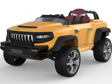 Henes Broon T870 4x4 Ride-On Car 24v with Tablet (RC) - Orange