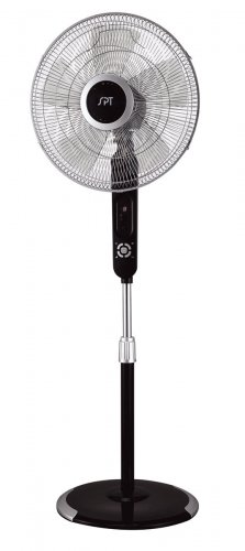 """Sunpentown 16"""" Stand Fan with Touch-Stop Sensor- SF-16T07"""