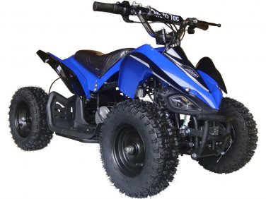 MotoTec 24v Mini Quad Ride On ATV V2 - Battery Powered - MT-ATV2