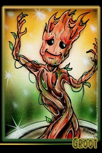 Baby Groot Print