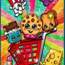 11x17 SHOPKINS Kooky Cookie Cheesy B Art Poster Print signed by Bianca Thompson