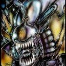 Alien Queen 11x17 Print