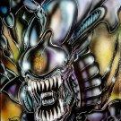 Alien Queen Original Painting