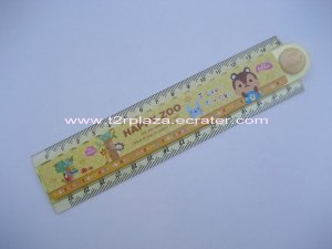 Happy Together Folding Multipurpose Ruler - RL110001 - Yellow
