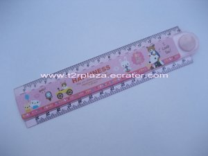 Happy Together Folding Multipurpose Ruler - RL110001 - Pink