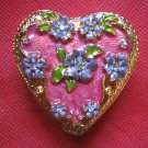 Elegant miniature trinket/jewellery box-brand new-heart