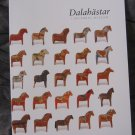 DALA HORSES book - Dalarna Swedish NEW