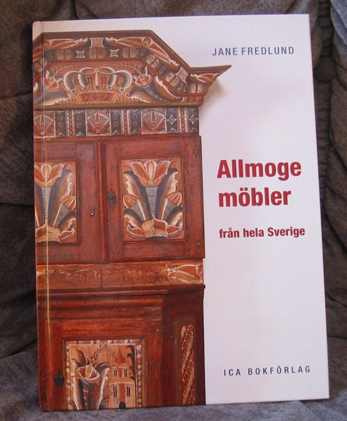 OLD Swedish FURNITURES Allmoge book - Fredlund