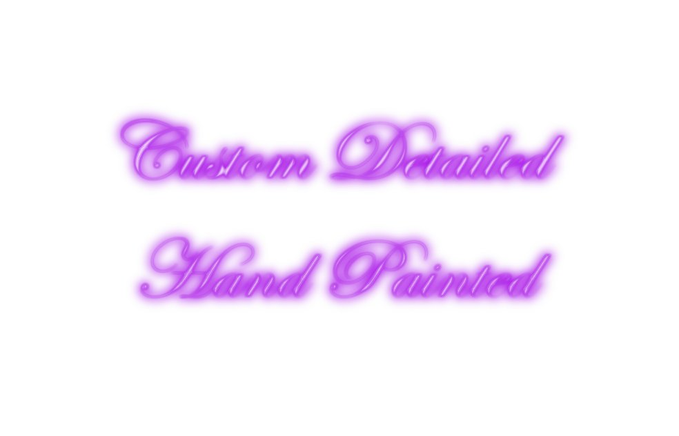 SALE! Custom Detailed Handpainted Set