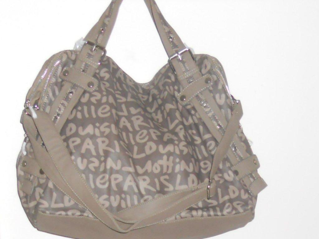 DESIGNER INSPIRED SHOULDER BAG IN BEIGE