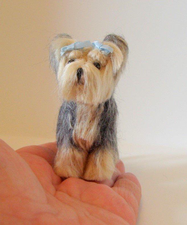 Needle Felt Pet Ornaments Custom made from your photos