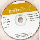 New Greenstreet Software Green Label Card Fonts XP Lot