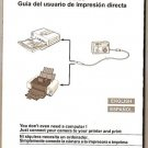 NEW CANON DIRECT PRINT USER GUIDE JAPAN 2006 MANUALS