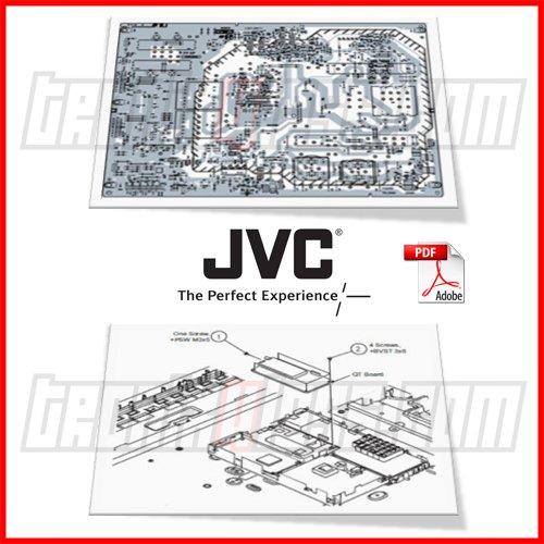 Jvc 52 Quot Projection Tv Hd 52g886 Main Power T Con Inverter