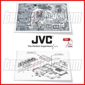 jvc 52 projection tv hd 52g886 main power t con inverter. Black Bedroom Furniture Sets. Home Design Ideas