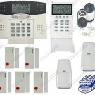 Wireless Home Security System w/ Auto-Dialer