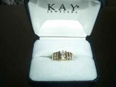 Timeless Complete Interlocking Diamond Wedding Set - Kays