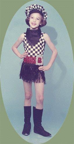 Vintage Photo BARBARA's DANCE RECITAL 1965