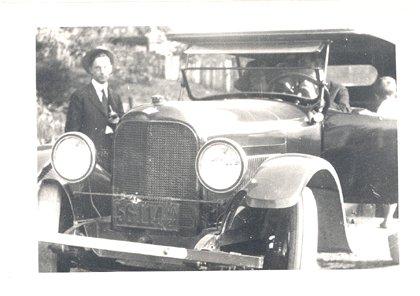 1921? VINTAGE PHOTO Antique Car GRAHAM PAIGE