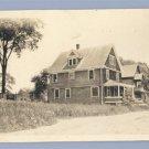 Vintage Photo OLD A-FRAME HOUSE circa 1930s
