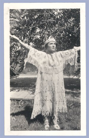 Vintage Photo 1930s NATIVE AMERICAN Sioux BROOKINGS SD