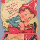 Vintage Valentine CRACKING NUT Wise-Crack NUTTY