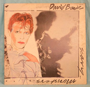 DAVID BOWIE LP Scary Monsters 1980 FASHION