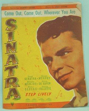 VINTAGE SHEET MUSIC 1943 STEP LIVELY Frank Sinatra
